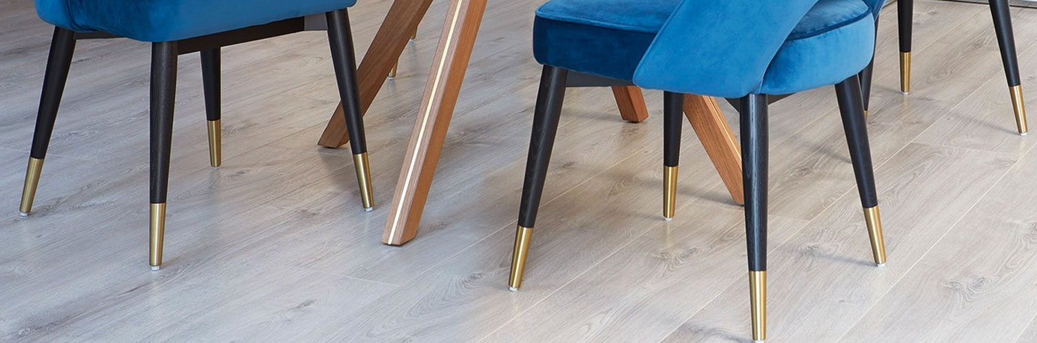 Wooden Furniture Legs with Brass Cups