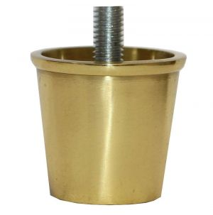 Lincoln Brass Slipper Cups with Threaded Bolt