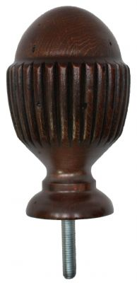 Reeded Wooden Knowle Antique Finish
