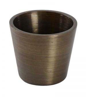 Renoir Brushed Antique Brass Leg Cup